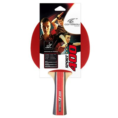Cornilleau 400 Sport Table Tennis Bat - Packed