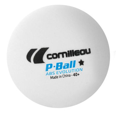 Cornilleau ABS Evolution 1 Star Plastic Table Tennis Balls - Pack of 6 - Ball
