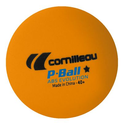Cornilleau ABS Evolution Table Tennis Balls 6 dozen - Orange