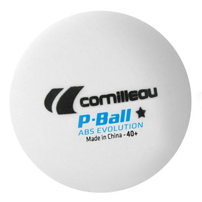 Cornilleau ABS Evolution Table Tennis Balls 6 dozen - White