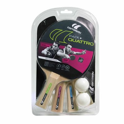 Cornilleau Bat and Ball Quattro Sport Gatien Set - Box