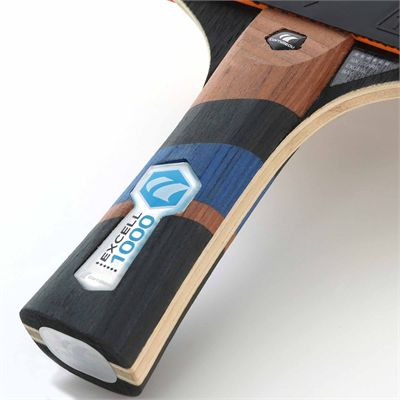 Cornilleau Excell 1000 Carbon PHS Performa 1 Table Tennis Bat - Grip