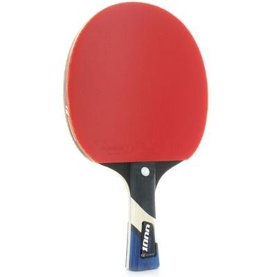 Cornilleau Excell 1000 Carbon PHS Performa 1 Table Tennis Bat Left Side View
