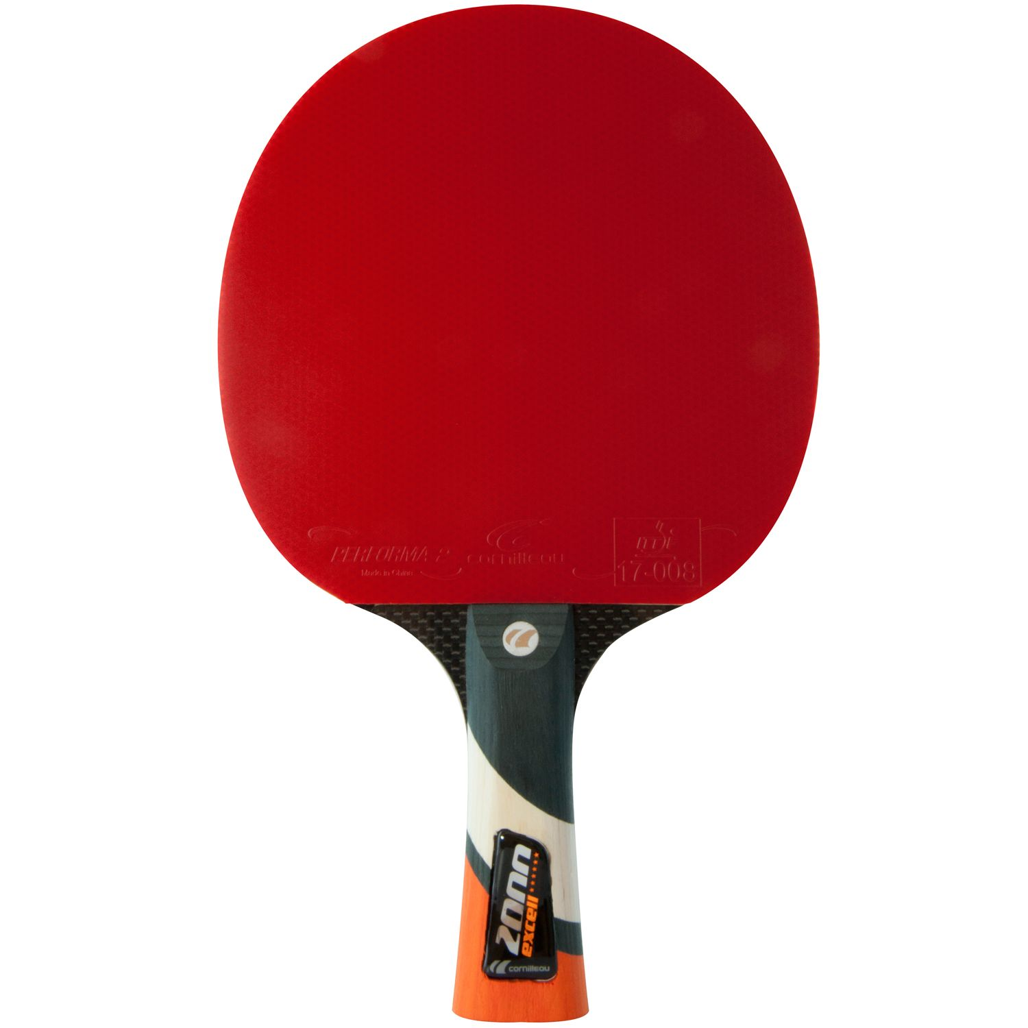 Cornilleau excell 2000 carbon phs performa 2 table tennis bat - Cornilleau table tennis bats ...
