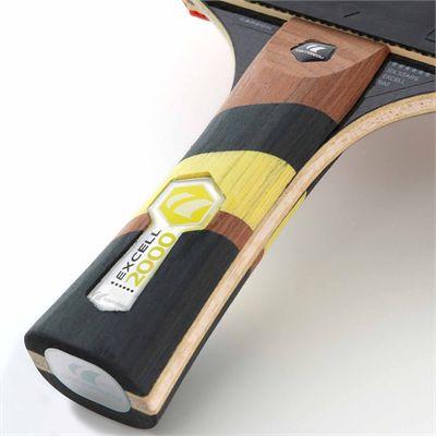 Cornilleau Excell 2000 Carbon PHS Performa 2 Table Tennis Bat - Grip