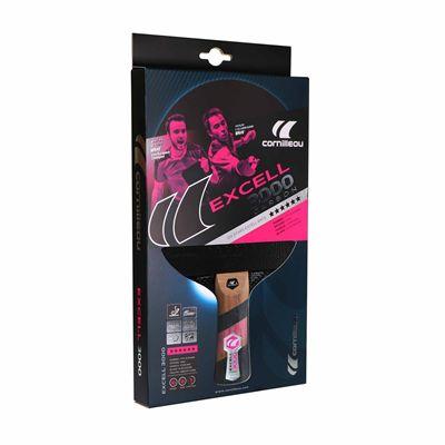 Cornilleau Excell 3000 Carbon PHS Performa 2 Table Tennis Bat - Box