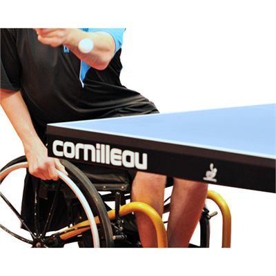 Cornilleau ITTF Competition 610 Static Table Tennis Table - Wheelchair Friendly