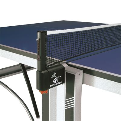 Cornilleau ITTF Competition 740 Rollaway Table Tennis Table - Blue - Net Post