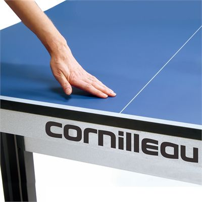 Cornilleau ITTF Competition 740 Rollaway Table Tennis Table - Blue - Playing Surface