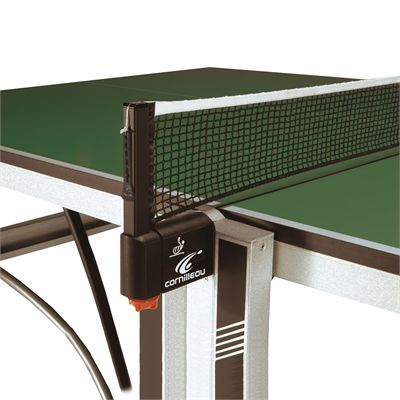 Cornilleau ITTF Competition 740 Rollaway Table Tennis Table - Green - Net Post