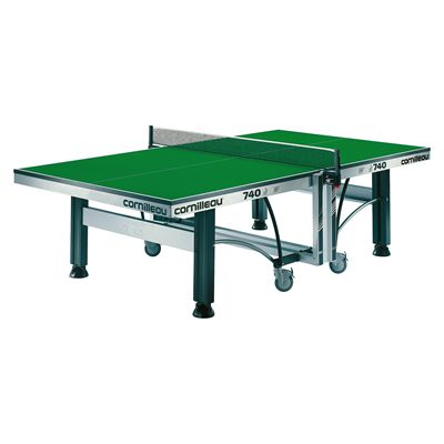 Cornilleau ITTF Competition 740 Rollaway Table Tennis Table - Green