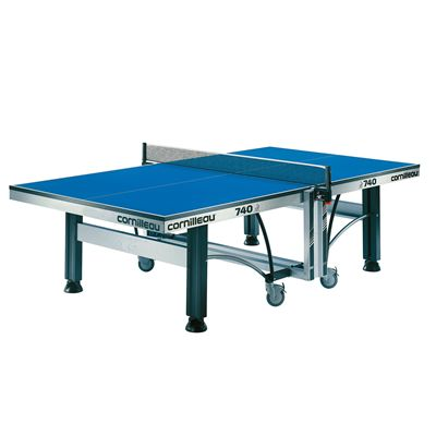 Cornilleau ITTF Competition 740 Rollaway Table Tennis Table - Blue