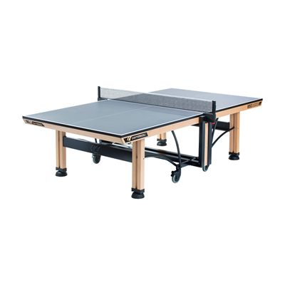 Cornilleau ITTF Competition Wood 850 Rollaway Table Tennis Table-Grey