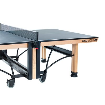 Cornilleau ITTF Competition Wood 850 Rollaway Table Tennis Table - Angle