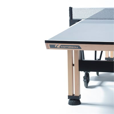 Cornilleau ITTF Competition Wood 850 Rollaway Table Tennis Table - Zoom Corner