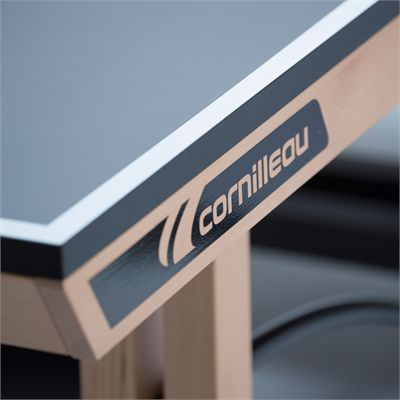 Cornilleau ITTF Competition Wood 850 Rollaway Table Tennis Table - Zoom Logo