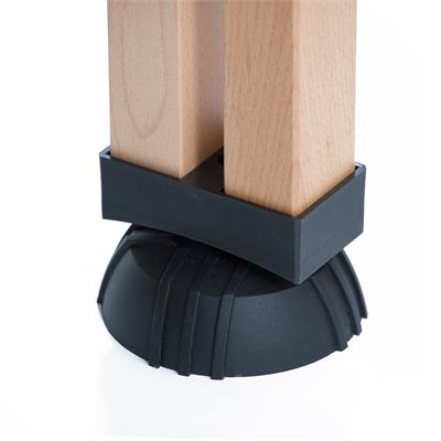 Cornilleau ITTF Competition Wood 850 Rollaway Table Tennis Table - Zoom pillar