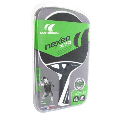 Cornilleau Nexeo X70 Table Tennis Bat - Box