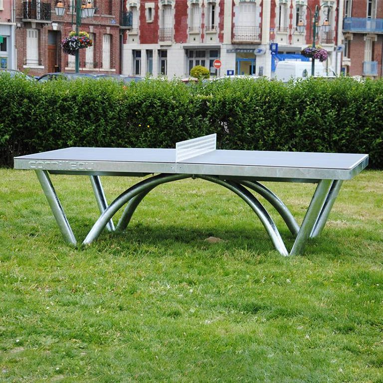 cornilleau park permanent static outdoor table tennis table. Black Bedroom Furniture Sets. Home Design Ideas