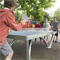 Cornilleau Park Permanent Static Outdoor Table Tennis Table3