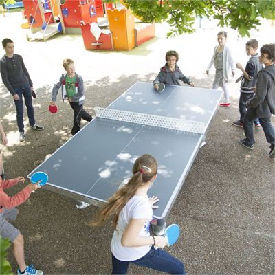 Cornilleau Park Permanent Static Outdoor Table Tennis Table4