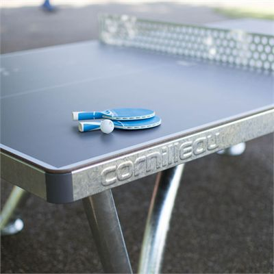 Cornilleau Park Permanent Static Outdoor Table Tennis Table - Zoomed