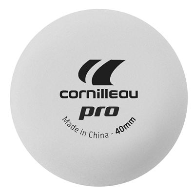 Cornilleau Poly 40mm Table Tennis Balls - Box of 72