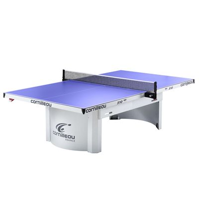 Cornilleau Pro 510 Static Outdoor Table Tennis Table - Advanced Net