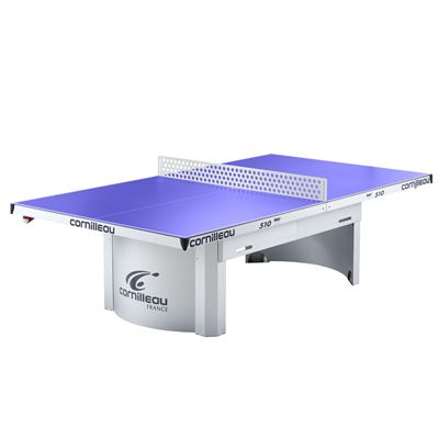 Cornilleau Pro 510 Static Outdoor Table Tennis Table - Steen Net