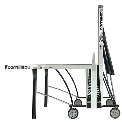Cornilleau Pro 540 Rollaway Outdoor Table Tennis Table - Playback Position