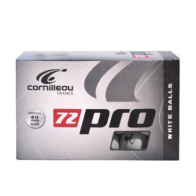 Cornilleau Pro Table Tennis Balls - Box of 72 White