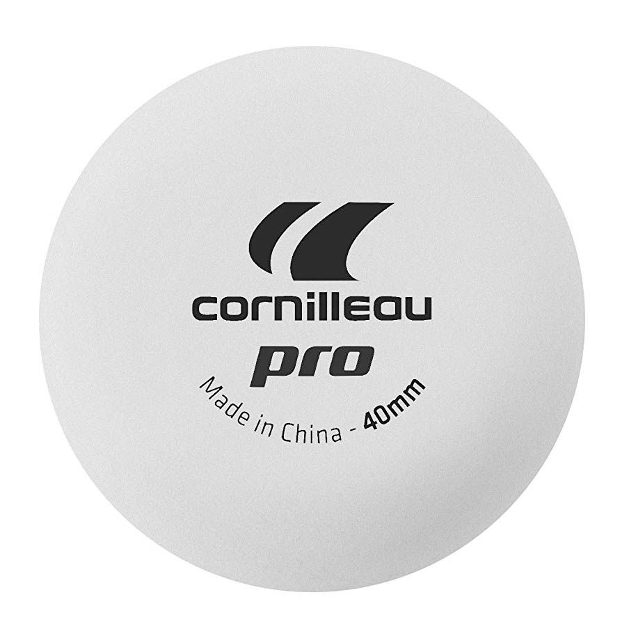 Cornilleau Pro Table Tennis Balls Pack Of 12