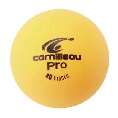 Cornilleau Pro Table Tennis Balls - Pack of 6 - Orange - Ball