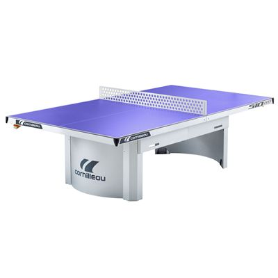 Cornilleau Pro 510 Static Outdoor Table Tennis Table-Blue
