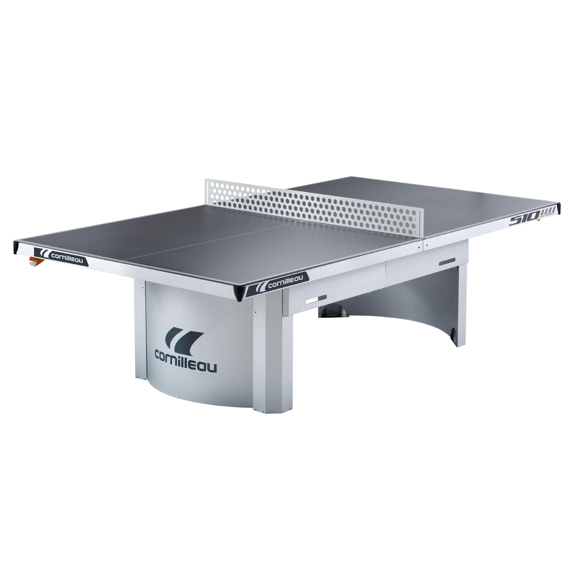 Cornilleau Proline 510 Static Outdoor Table Tennis Table  Grey