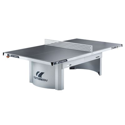 Cornilleau Pro 510 Static Outdoor Table Tennis Table-Grey