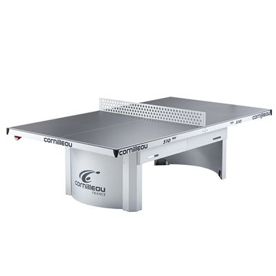 Cornilleau Proline 510 Static Outdoor Table Tennis Table - Steel Net
