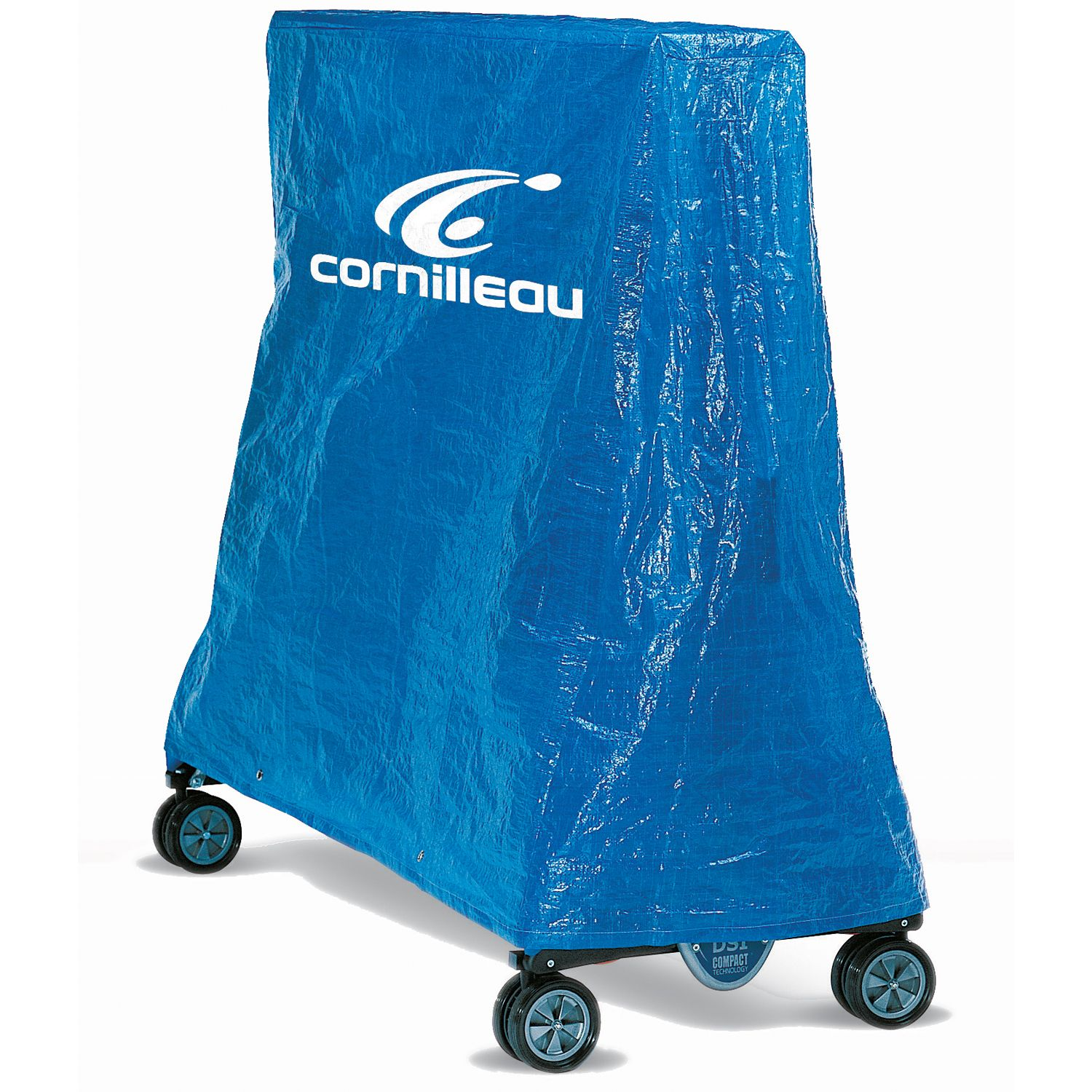 Cornilleau pvc cover for rollaway compact tables - Cornilleau outdoor table tennis cover ...