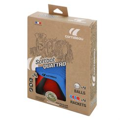 Cornilleau Softbat Eco-Design Outdoor Quattro Pack