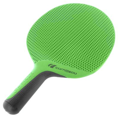 Cornilleau Softbat Eco-Design Outdoor Table Tennis Bat - Green - Angle