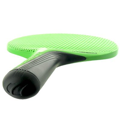 Cornilleau Softbat Eco-Design Outdoor Table Tennis Bat - Green - Below