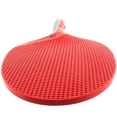 Cornilleau Softbat Eco-Design Outdoor Table Tennis Bat - Red - Above