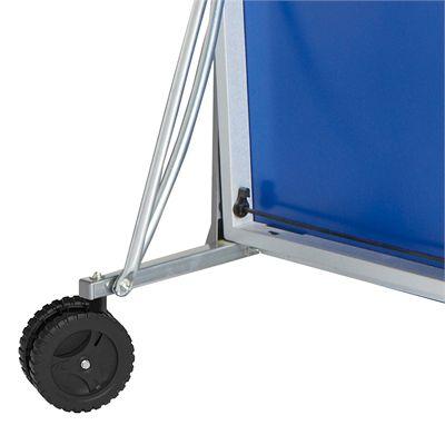 Cornilleau Sport 100 Rollaway Indoor Table Tennis Table Wheel-Folded