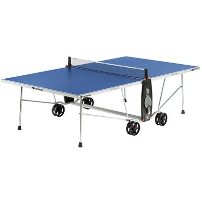 Cornilleau Sport 100S Crossover 4mm Table Tennis Table-Blue