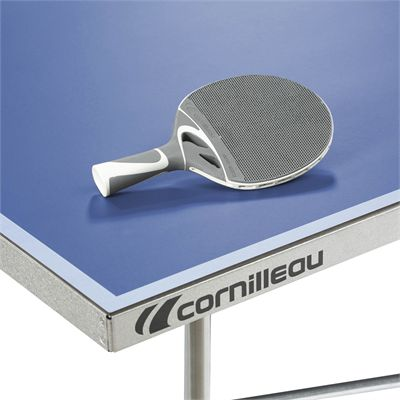 Cornilleau Sport 100S Crossover Outdoor Table Tennis Table - Corner