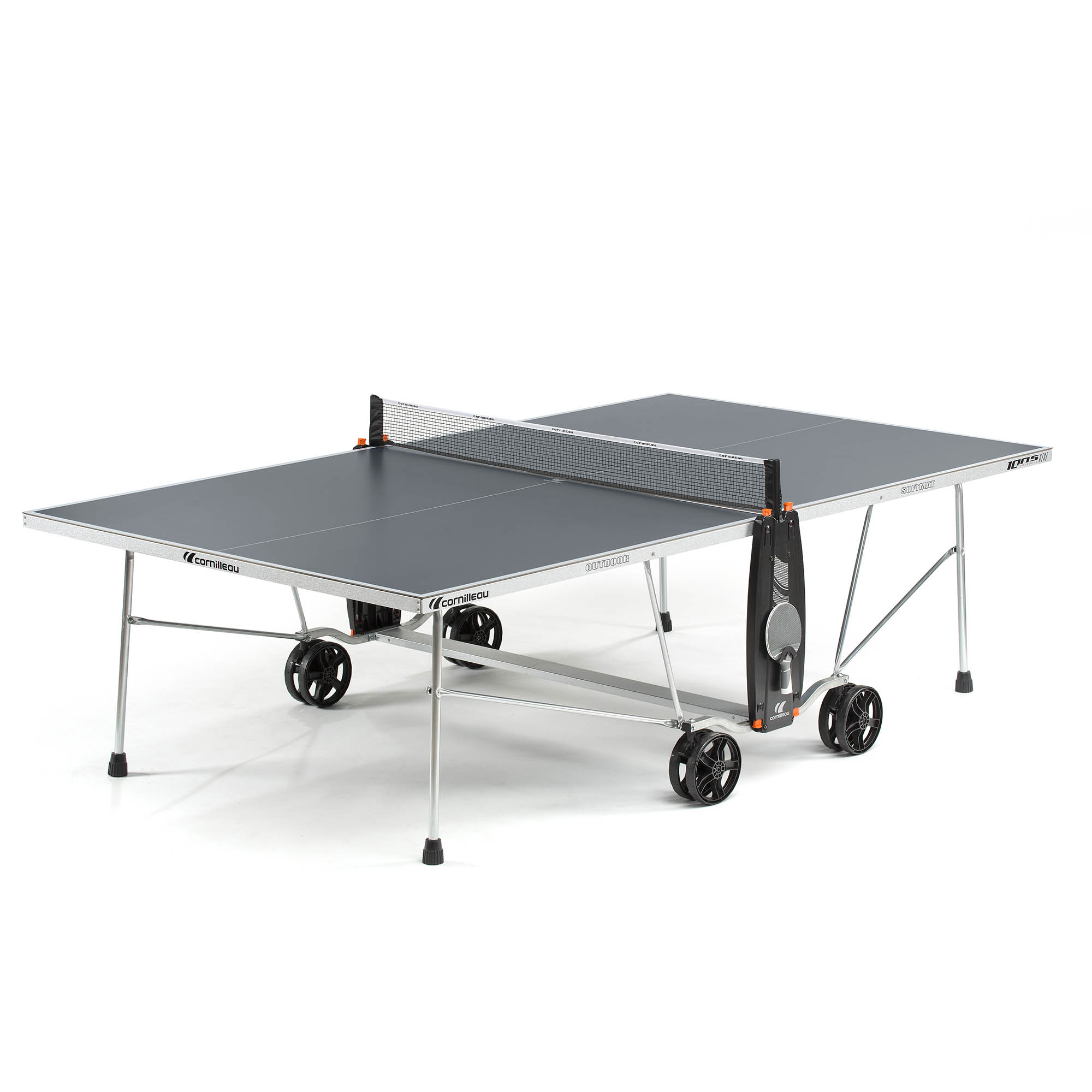 Cornilleau Sport 100S Crossover Outdoor Table Tennis Table  Grey