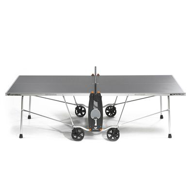 Cornilleau Sport 100S Crossover Outdoor Table Tennis Table - Grey - Playback - Grey - Side