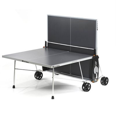 Cornilleau Sport 100S Crossover Outdoor Table Tennis Table - Grey - Playback - Grey