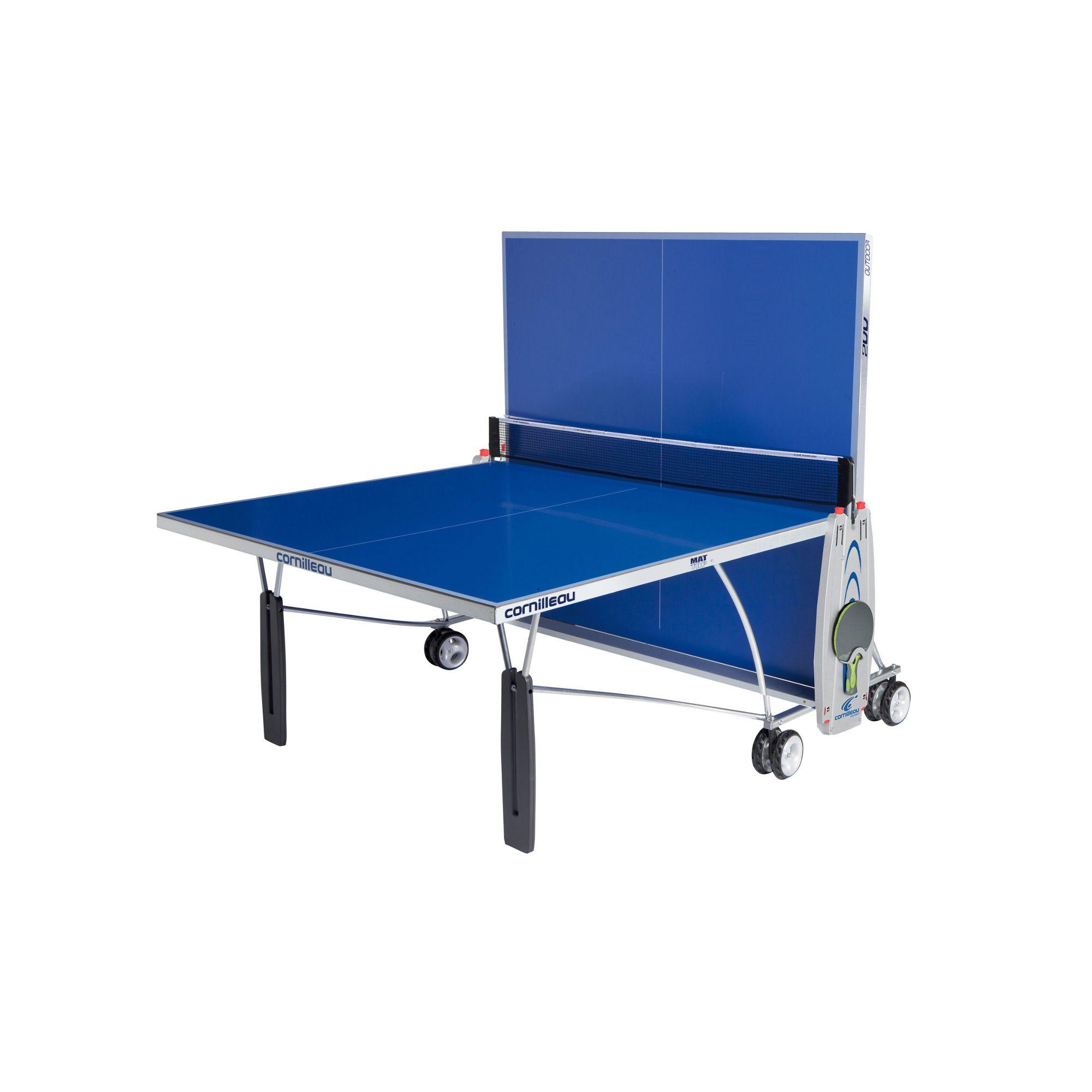 Cornilleau sport 200m outdoor rollaway table tennis table - Table tennis de table cornilleau outdoor ...