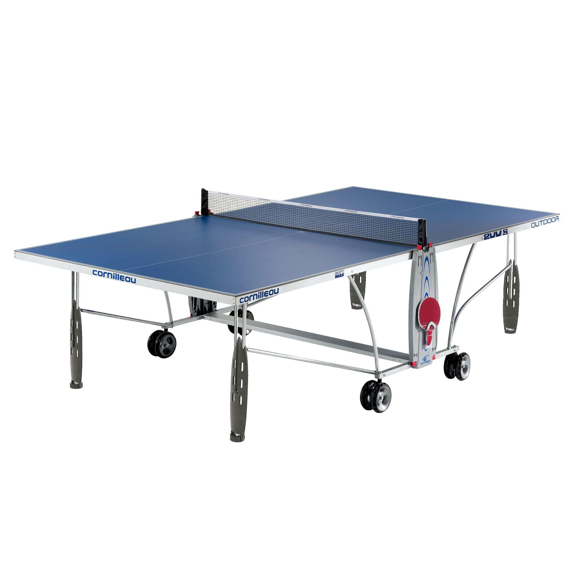Cornilleau sport 200s rollaway outdoor table tennis table - Weatherproof table tennis table ...